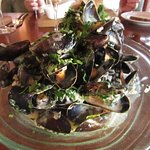 Wineport Lodge, The Restaurant - Moules starter, scrumptious