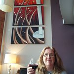 Wineport Lodge, The Restaurant, pre dinner drink in the bar