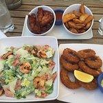 Poolside food