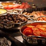 Full Scottish breakfast buffet