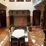 Lovely traditional Riad. Perfect location and close to Pepe Nero restaurant. Although it is a ch