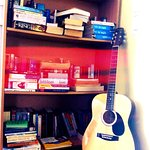 Guitar and book exchange