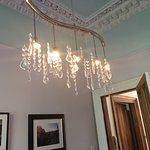 Elegant breakfast room chandelier