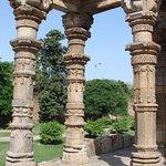 Detalle de las columnas de la antigua mezquita