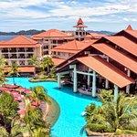Aerial Pool at The Magellan Sutera Resort
