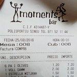 Moments bar Foto
