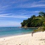 Beach at Manuel Antonio Park.