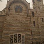 Parte externa da igreja