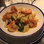 Shrimp and penne= YUM