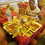 Welcome to ciscas delicacy no:1 seafood and creole cuisine you will be serve with a smile