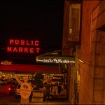 Inseparable, Hotel and the Pike's Place Market. Took this photo right at the street where Hotel