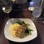 Great dinner!  Rachael was an excellent waitress.   We had the Alaskan Halibut and the Creole Bo