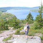 heading down, overlooking eagle lake