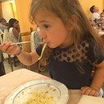 Anche la mia piccola ha apprezzato i tagliolini al tartufo bianco ( oltre alla pizza) buongustai