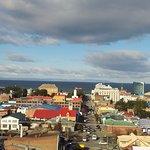 Vista de la bahía desde un mirador cercano.