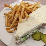 Ham Sandwich with Fries