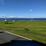 From bedroom window overlooking the links and family areas