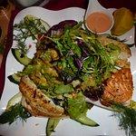 Salat mit Edelfischen