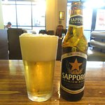 Sapporo Beer, Miso Sushi, Bend, Oregon