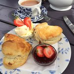 Perfect cream tea!
