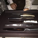 Selection of Steak Knifes @ Barclay Prime