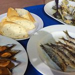 Los platos que pedimos