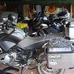 Parquing motos