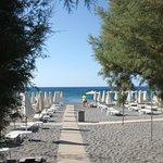 accès a la plage