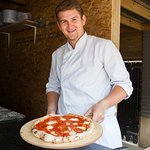 Sourdough pizzas from our wood-fired oven. Available to eat in or take away everyday.