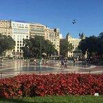 Plaça de Catalunya (Plaza de Cataluña) Foto