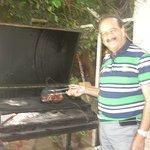 Chef Rafik Tatli et son fameux brisket au barbecue