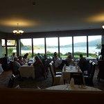 Salle à manger avec belle vue sur la baie de Portree