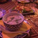 soup & spring rolls