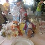 Tigger & Eeyore hit the wine at amazing Avali.