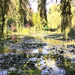 Haus und Garten Claude Monet Foto