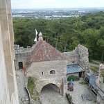 View from Burg tower