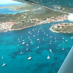 Flying into St Bart's