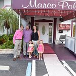 A family dinner at The Marco Polo!