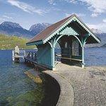 Proche de l'auberge, le Lac d'Annecy à St Jorioz
