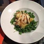 rocket salad w/potatoes and pecorino (ok, just a salad but still really good)