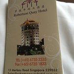 Robertson Quay Hotel Foto