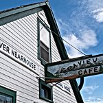 Seaview Cafe sign