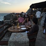 Cliff side restaurant