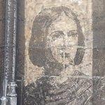 FRESQUE DE JEANNE D'ARC RUE ST ROMAIN.