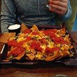 Huge nacho tray!
