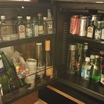 The Mini-Bar (not included - extra cost)