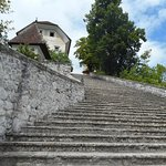 Famous steps on the island
