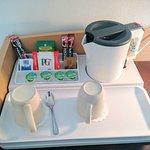 In-room Coffee and Tea facilities.