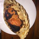 Pizza calzone et dessert du jour : merveilleux