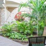 Jardin Interior Recepción
